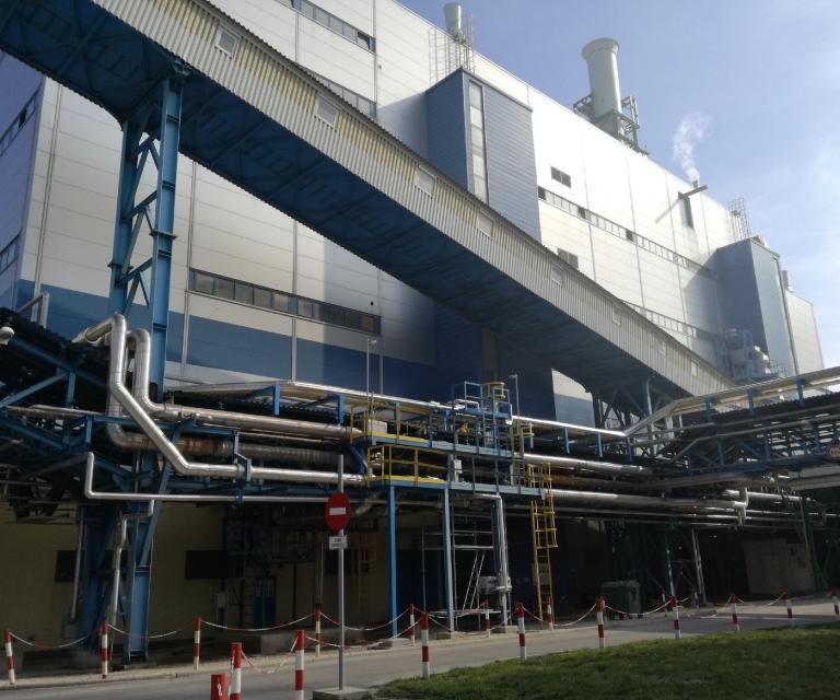 Granuláló üzem 1 / Granulator plant 1